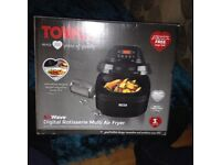 Digital rotisserie mutil air fryer