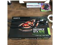 GeForce GTX 1070 FE. With cable and box.