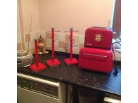 FOR SALE KITCHEN ACCESSORIES IN RED