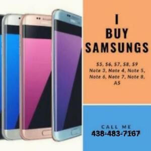 ILL BUY YOUR NEW/USED/CRACKED SAMSUNGS!!!