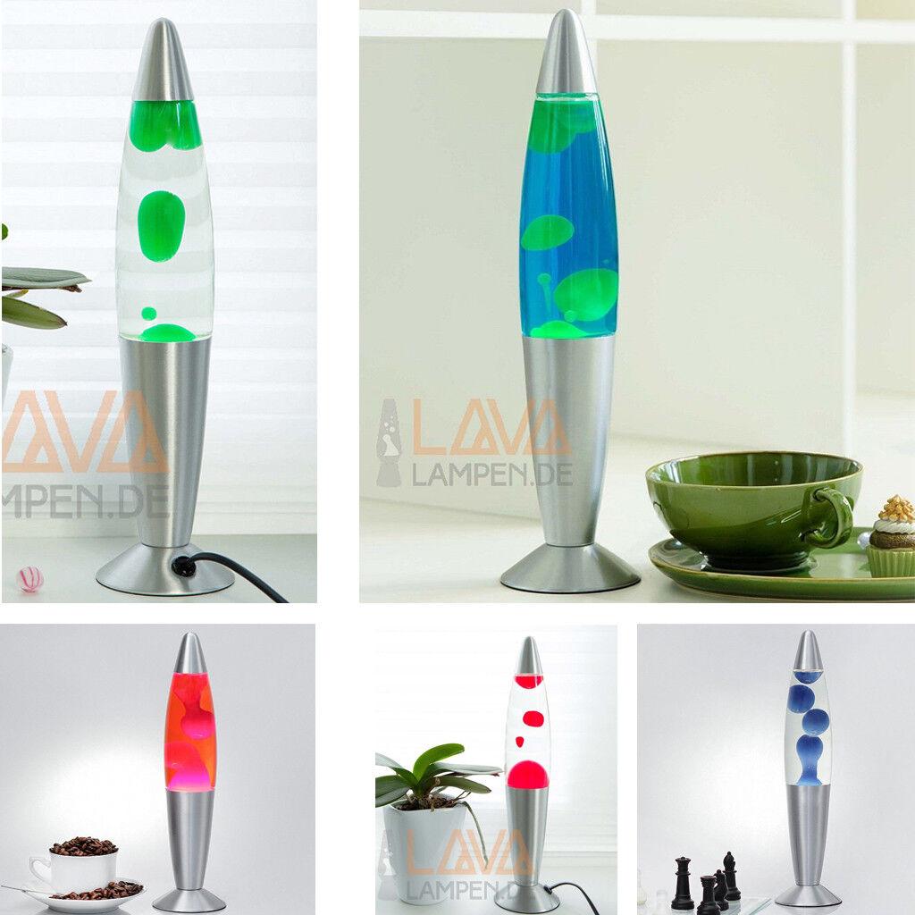 Design Lavalampe 30cm Lavaleuchten Stimmungsvolles Licht Schlafzimmer Timmy