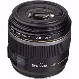 Canon EF-S 60mm f/2.8 USM Macro + Hama UV Filter