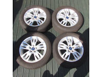 2014 FORD FOCUS 16'' 5 Stud Alloy Wheels - Mondeo Focus Smax Cmax Kuga