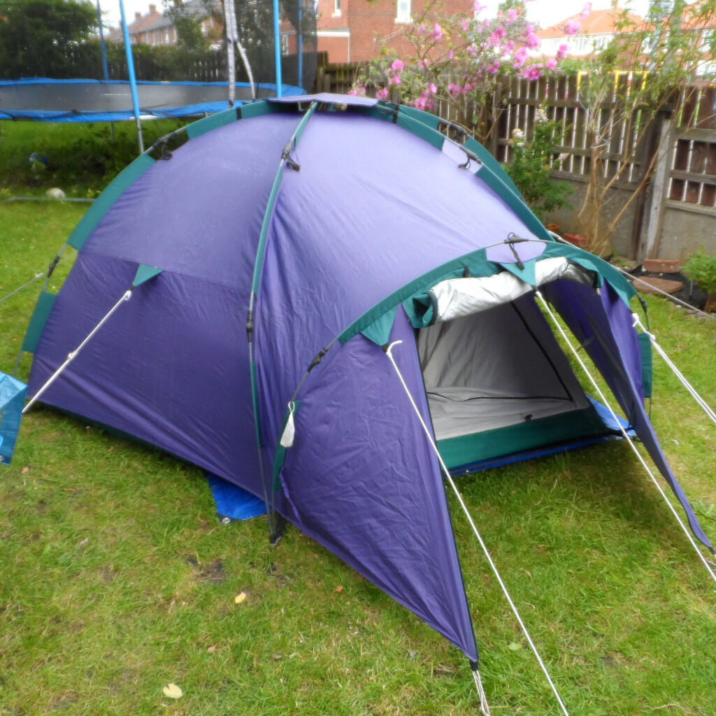 khyam quick erect tent (pop up) 3 person igloo dome rapidex system & khyam quick erect tent (pop up) 3 person igloo dome rapidex system ...