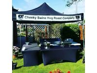 Hog roast and BBQ catering service. Birthday party, christening, wedding, corporate events.