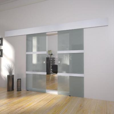 Doppia porta scorrevole in vetro U1D2