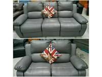 1 year old recliners 3 &2 in vgc can deliver 07808222995