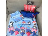 Pirate Room Curtains, Light shade, bedding etc Bundle from Next