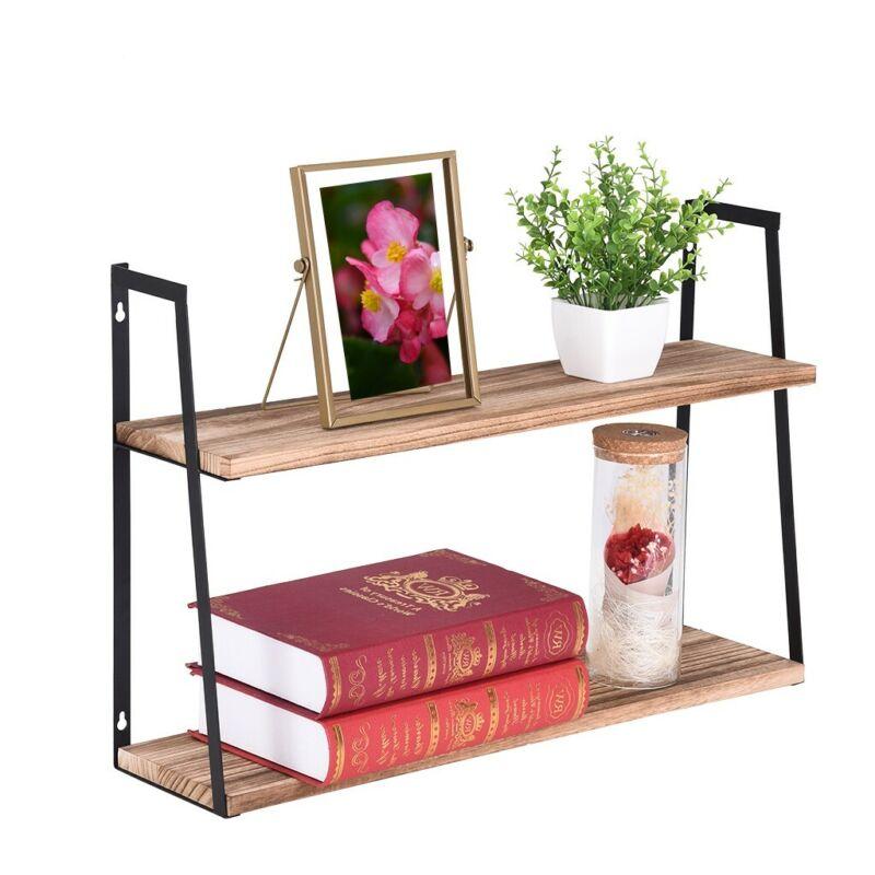 Floating Wall Shelves Wood For Kitchen Living Room Bedroom O