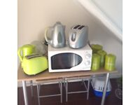 Kettle and toaster sets plus Microwave