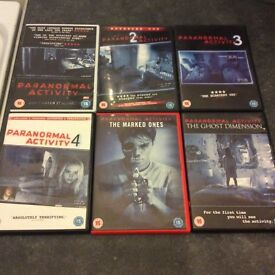 Paranormal activity complete collection 1-6