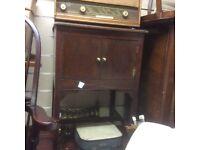 Small oak cupboard