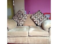 sofas 2 and 3 seater .