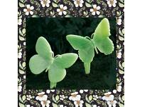 Glow in the dark butterflies set of 2