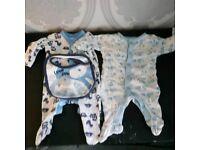 Boys tiny baby/newborn bundle