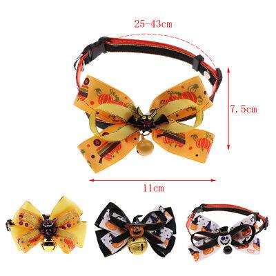 Pet Halloween Collars - Middle Dog Necklace / Adjustable - Halloween Pet Collars
