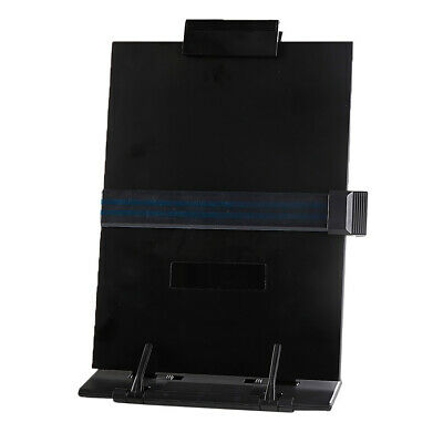 Copy Holder Easel Portable Document Holder Reading Stand - Adjustable Black
