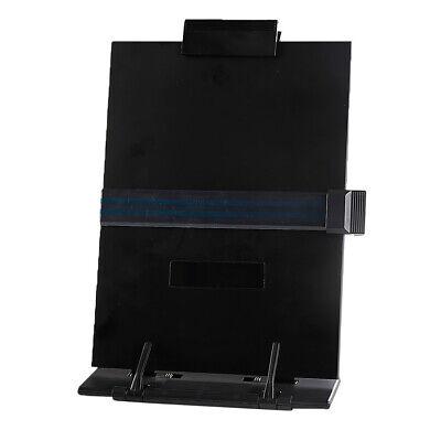 Copy Holder Easel Portable Document Holder Reading Stand - Adjustable Black