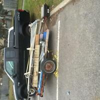 Flatbed trailor 5' / 8' selling or best offer