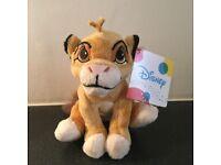 Disney Simba The Lion King Plush