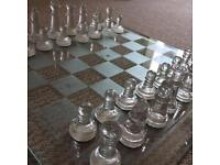 Cheap Limited edition glass chess board