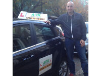 AOK Driving School - CHRISTMAS PRICE OFFER!!!!
