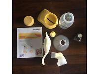 Medela Harmony Breast Pump Manual in original box