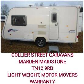 2008 light weight 2 berth caravan +movers MAIDSTONE kent