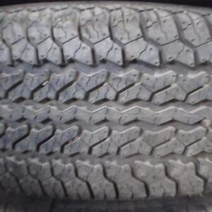 UNIROYAL TIGER PAW XTM 235/75R15 TIRES NEW