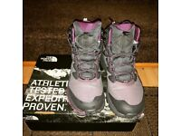 North face ladies walking boots