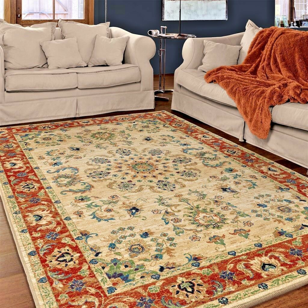 Details About Rugs Area Rugs 8x10 Rug Carpets Oriental Persian Cool Large Living Room Big Rugs