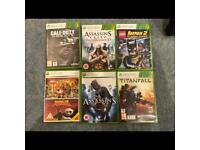 Variety of Xbox 360 games