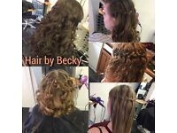 Hair by Becky. I am a mobile and salon based stylist in Berkshire.