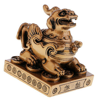 Feng Shui Pi Yao/Pi Xiu Figurine to Attract Wealth Luck Office Home Decor #2