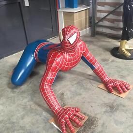 Spider man and c3po
