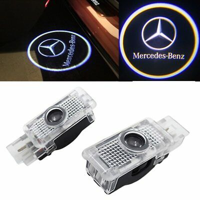 Tür Beleuchtung Mercedes Benz W203 C Klasse SLK CLK SLR W209 W208 Logo Licht online kaufen