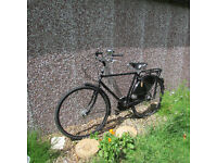 """Gents Pashley Roadster, 19"""" frame, 5 gears, Brooks leather saddle, hub breaks. Good condition."""