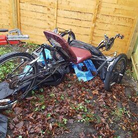 3 wheeled bike