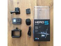 GoPro HERO 5 Black & Accessories. Unwanted Gift