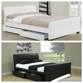 Brand New Leather Bed Fram size king
