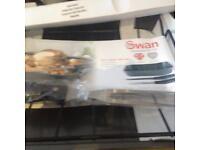 Swan Roasting tin & rack plus large knife fork