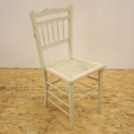 Victorian Style Caned Side Seat