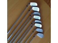 LADIES SET OF CLUBS 4/SW PLUS WOODS