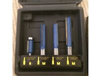 Titan Kitchen fitter pro router cutter set of 4, nearly new