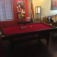7 FT Pool Table (Mint Condition)