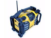 Dewalt DCR016 jobsite radio, 240v / 18v plus AUX function