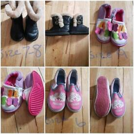 Boots size 7-8 Slippers 9 my little pony 6
