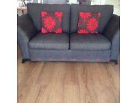 Comfy Elegant Fabric Double Sofa Bed