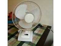 12'' table top oscillating fan vgc