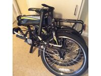 Cross city folding electric bike,as new,great for getting around in town and up those hills